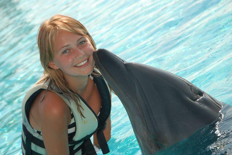 Pływanie z delfinami w Turcji - Alanya