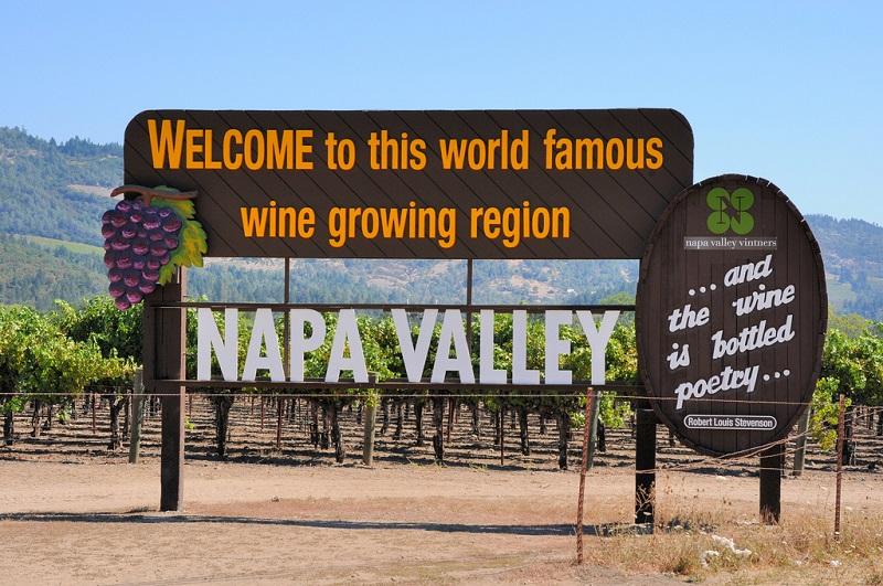 Podróż poślubna po USA - Napa Valley