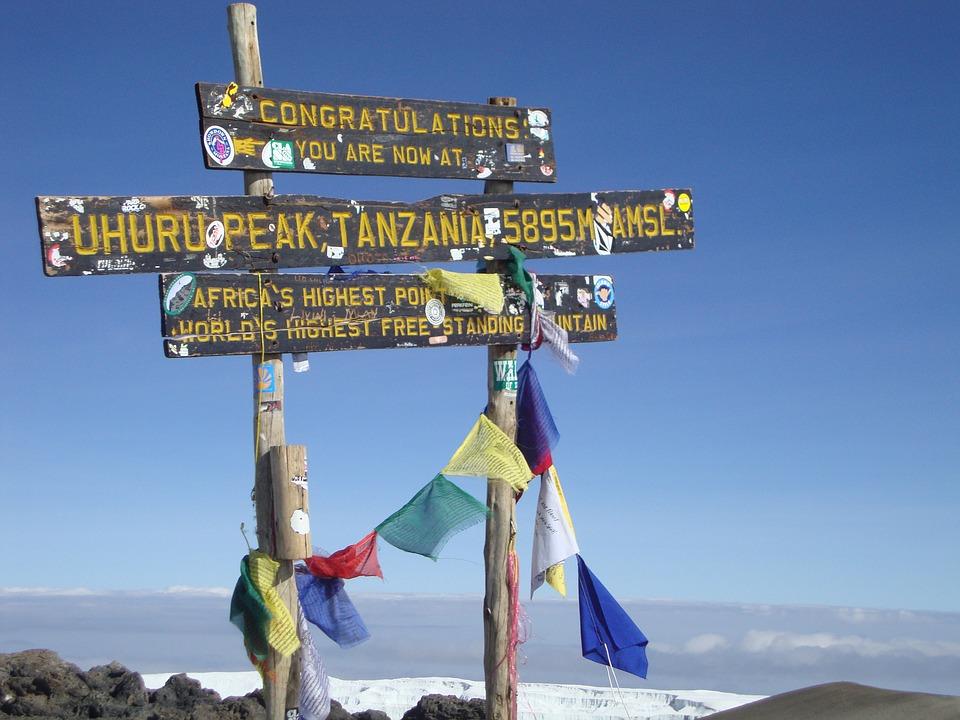 Podróż poślubna na Kilimandżaro