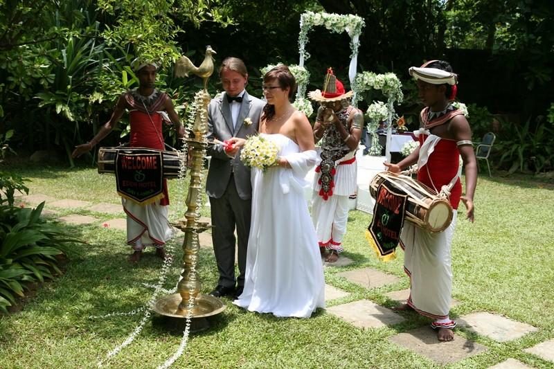 Ślub na Sri Lance